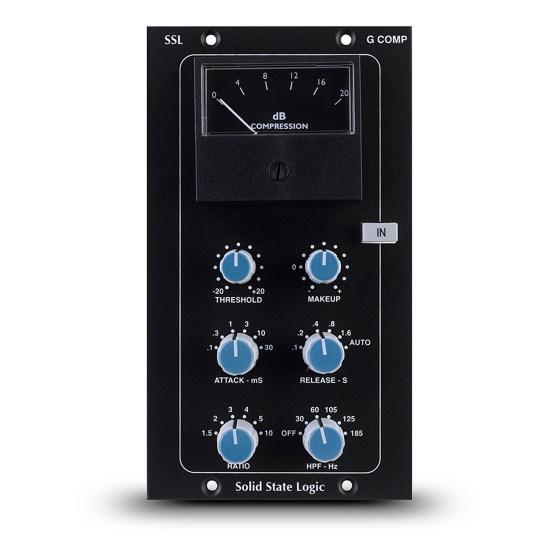 SSL 500 E Series Stereo Bus Compressor Module