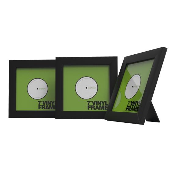 glorious vinyl frame set 7 black