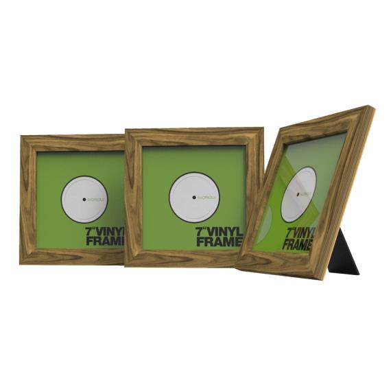 glorious vinyl frame set 7 rosewood