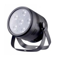 fractal lights par led 6x4w batt