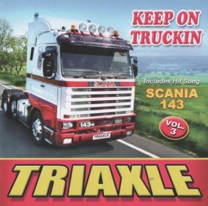 keep on trucking scania 143 triaxle vol 3 cd
