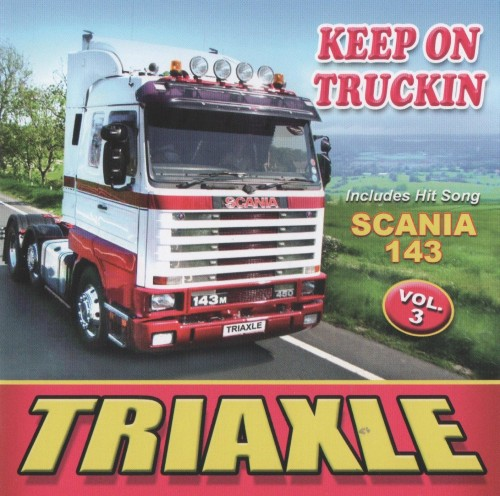 keep on trucking scania 143 triaxle vol 3 cd