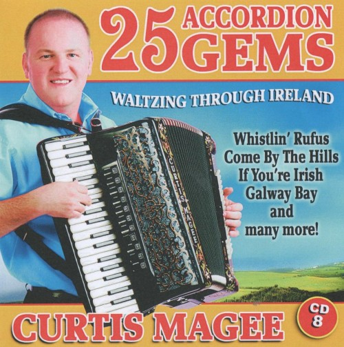 25 accordion gems curtis magee cd 8