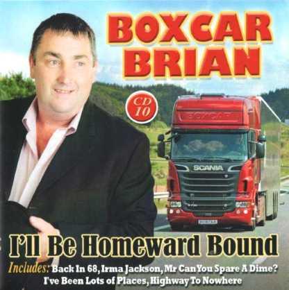 boxcar brian i'll be homeward bound cd