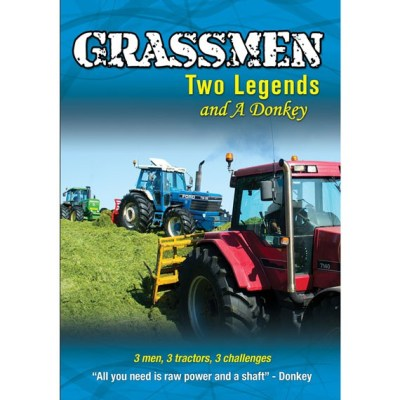 Grassmen Two Legends and a Donkey DVD