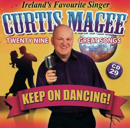 Curtis Magee Keep On Dancing CD 29