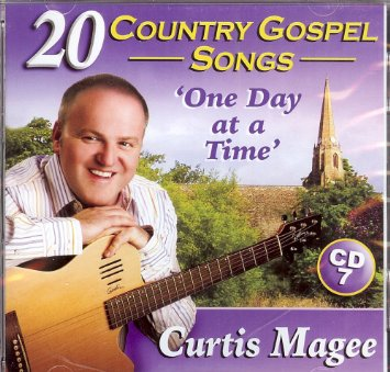 Curtis Magee 20 Country Gospel Songs CD 7