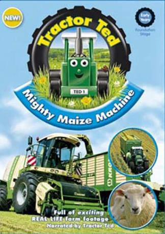 Tractor Ted Mighty Maize Machine DVD