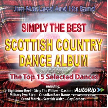 Jim Macleod and His Band Simply the Best Scottish Country Dance Album CD
