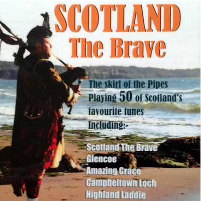 Scotland The Brave CD