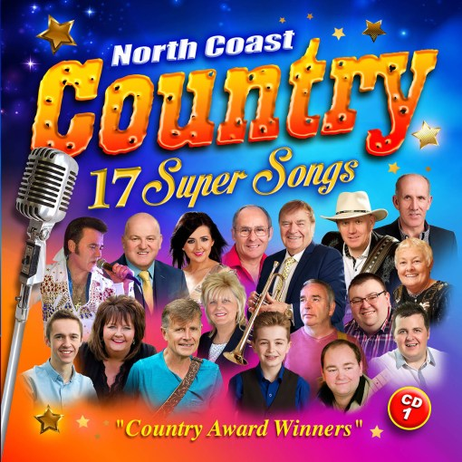 North Coast Country Music 17 Super Songs CD