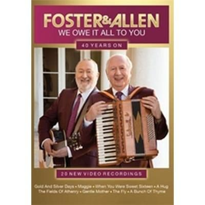 Foster & Allen new DVD We owe it all to you DVD