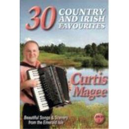 Curtis Magee 30 Country & Irish Favourites DVD