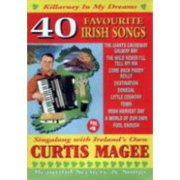 Curtis Magee 40 Favourite Irish Songs DVD