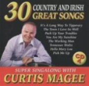 Curtis Magee 30 Great Songs CD