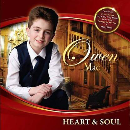 Heart & Soul CD by Owen Mac