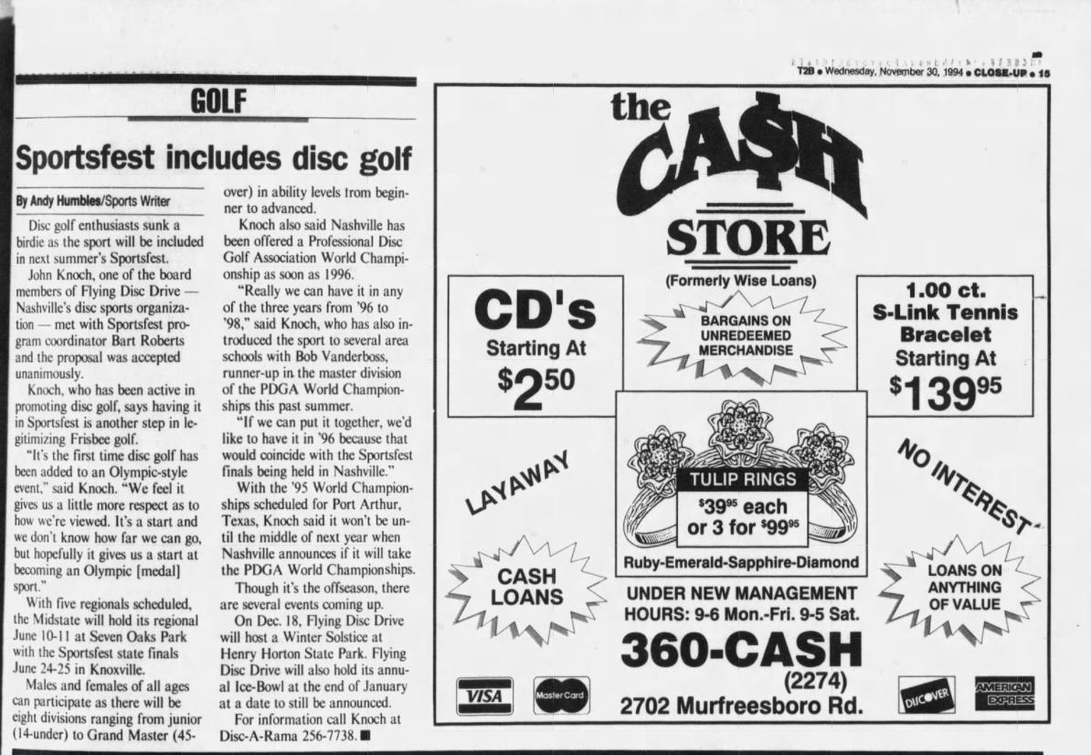 1994 - November 30
