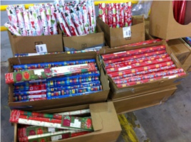 Annual Wrapping Paper Sale
