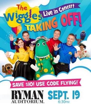 The Wiggles Nashville Discount Code