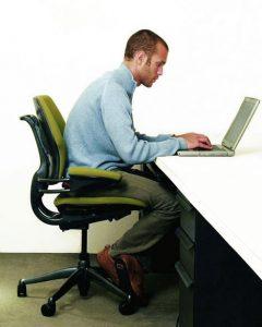 forward head posture computer neck pain