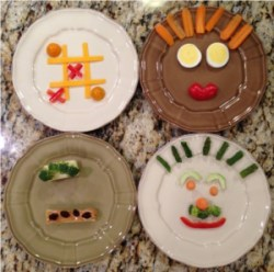 vegetables play with food kids