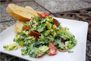 salad for children BLT salad