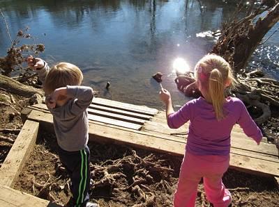 Hidden Lake Park in Bellevue special needs kids nashville