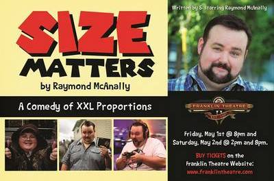 """Size Matters"" Tickets Giveaway!"