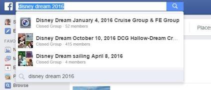 Disney Cruise Travel Facebook Groups