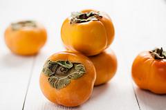 fall produce Cranberry Persimmon Muffins recipe