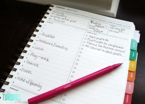 new year family planner less stress more
