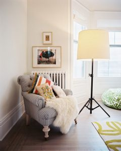 reading corner cozy hygge childrens rooms decorating