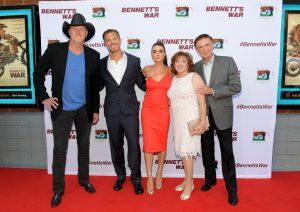 Bennett's War movie red carpet in nashville, tn