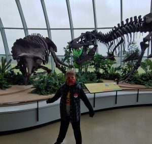 Discovery Park dinosaur fossils day trip from nashville