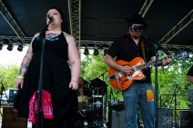 Cherry Lee and the Hotrod Hounds - 2016 Miami Valley Music Fest-0352