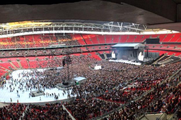 Rihanna's Wembley Concert Half Empty