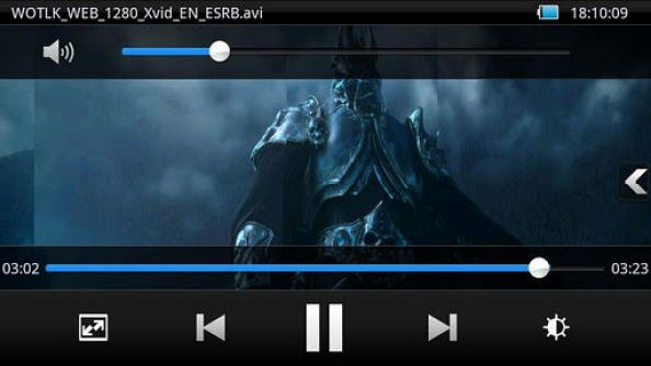 MOBO video player for android