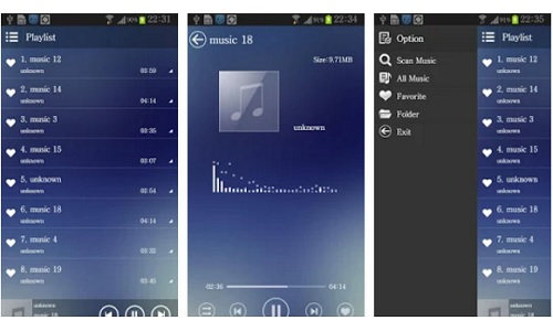 Mxbox android music player apps template