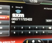Sirius XM Satellite Radio For Auto Sound System