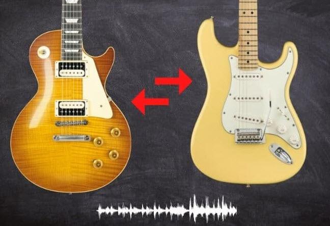 Les Paul vs Stratocaster