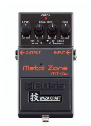 METAL ZONE MT-2W - Best Guitar Pedals for Metal