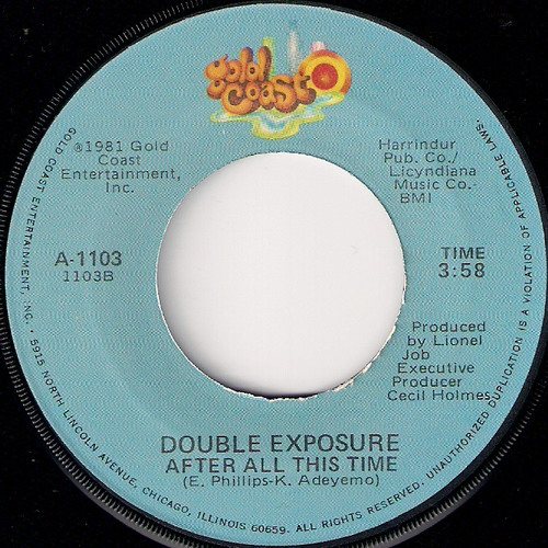 Double Exposure - After All This Time, Gold Coast