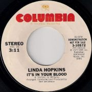 Linda Hopkins - It's In Your Blood, Columbia 7""
