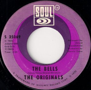 The Originals - The Bells, Soul 7""