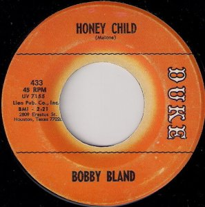 Bobby Bland - Honey Child, Duke 7""
