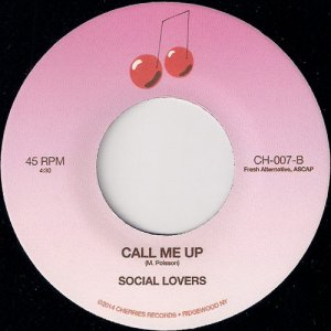 Social Lovers - Call Me Up, Cherries Records 45