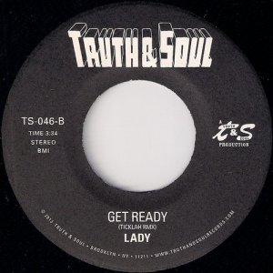 Lady (Terri Walker & Nicole Wray) - Get Ready (Ticklah Rmx), Truth & Soul 45