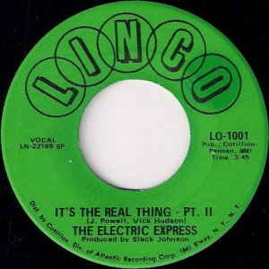 The Electric Express - It's The Real Thing - Pt. II, Linco 45