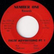 Roy Hightower & Gant Green - False Advertising Pt. 1, Number One 45