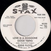 Eddie Floyd - Love is a Doggone Good Thing, Stax Promo 45